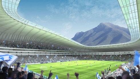 Estadio De Futbol Monterrey